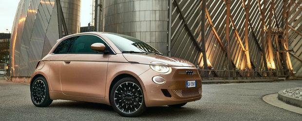 Masina electrica de la Fiat a primit o noua versiune cu usi spate a la Mazda RX-8. POZE