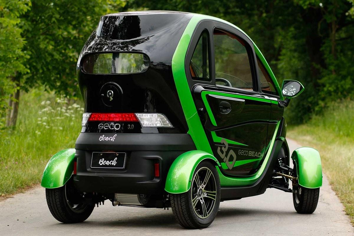 Masina electrica Geco Quick 3000 #Verde-Gri