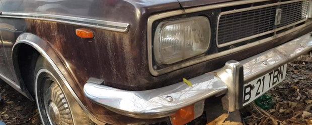 Masina lui Nicolae Ceausescu vanduta la licitatie in 2014 cu 40.000 de Euro zace abandonata