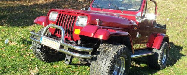 Masina Mea: un Jeep Wrangler refacut integral de un pasionat