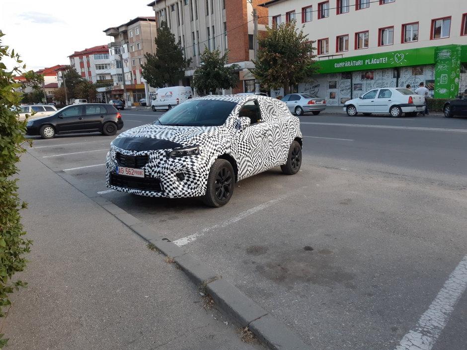 Masina misterioasa in Romania