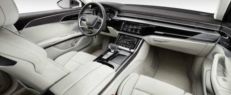 Masina momentului a fost lansata oficial. Ce propune noul Audi A8 si mai ales cat va costa el