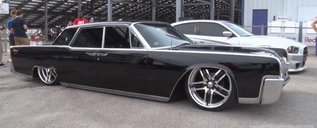 Masina noastra preferata: Lincoln Continental '64 cu suspensie pneumatica