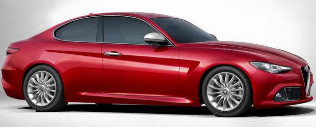 Masina pe care fanii Alfa Romeo o asteapta cu sufletul la gura. Cum ar putea arata noua Giulia Coupe.