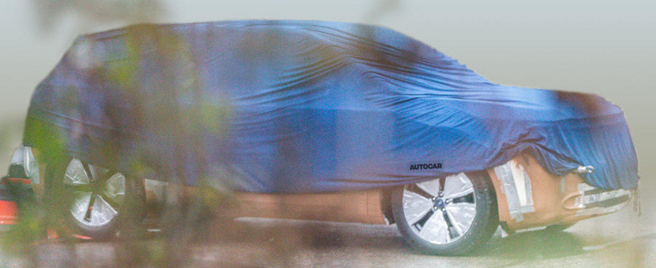 Masina pe care Ford o va construi pe o platforma imprumutata de la Volkswagen a fost fotografiata pentru prima data