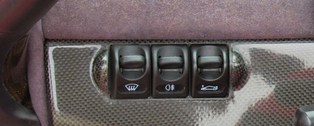 Masina pentru care lumea s-a imbulzit sa vada Salonul Auto de la Frankfurt din '95 va fi scoasa curand la vanzare. FOTO