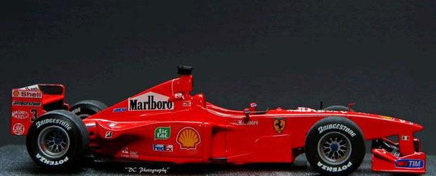 Masina pilotata in 1999 de Schumacher, vanduta la licitatia din Mamaia