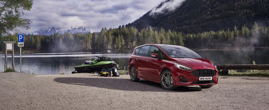 Masini de familie prietenoase cu mediul. Ford lanseaza noile S-Max Hybrid si Galaxy Hybrid in Europa