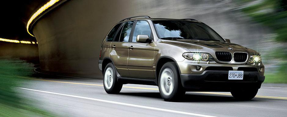 Masini de lux confiscate de ANAF, de vanzare la pret de telefon. Un BMW X5 din 2001 costa doar...1500 de lei