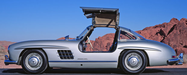Masini legendare Ep. 7 - Mercedes-Benz 300SL Gullwing