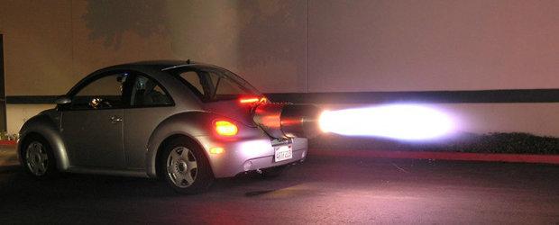 Masini nebune pe care le mai gasesti de vanzare pe internet: ce zici de un Beetle cu motor cu reactie?
