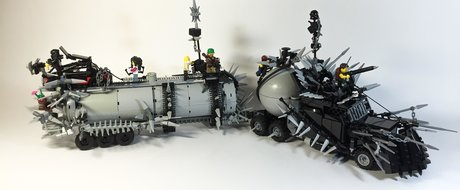 Masinile din Mad Max Fury Road realizate din LEGO sunt dementiale!