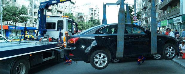 Masinile parcate neregulamentar in Sectorul 4 nu vor fi ridicate in perioada sarbatorilor