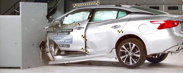 Masinile sunt mai sigure ca oricand, anunta americanii de la IIHS
