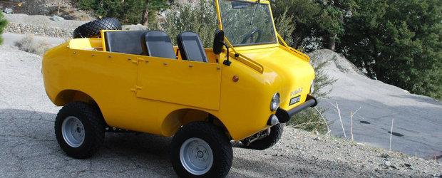 Masinuta asta galbena este un Fiat 500 de off-road pe steroizi si este de vanzare!