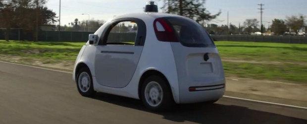 Masinuta fara sofer de la Google se pregateste sa dea buzna pe drumurile publice