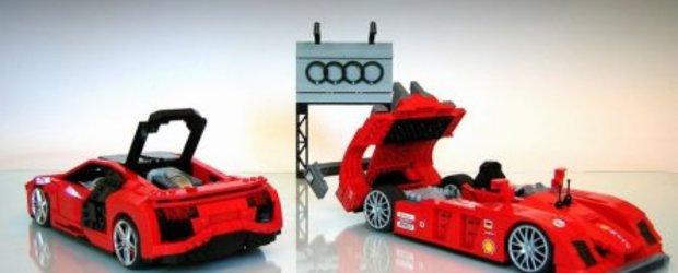 Masinute impresionante confectionate din Lego