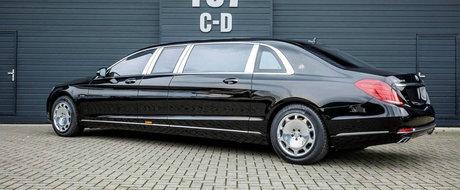 Masoara 6,5 metri si poate fi al tau pentru 697.000 de euro. Ne referim desigur la acest Mercedes S600 Pullman