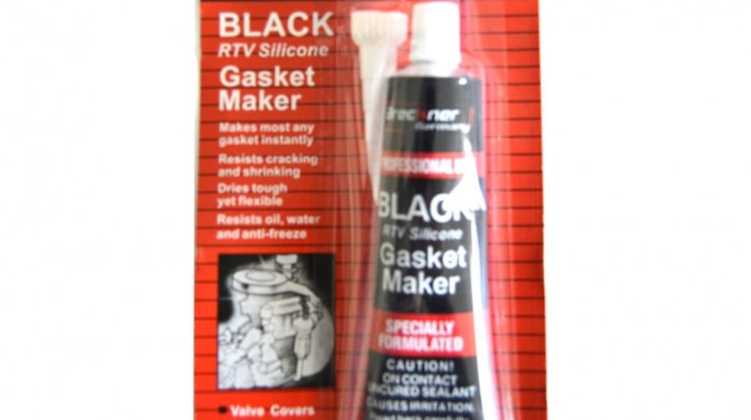 Mastic pentru garnituri negru Breckner - silicon negru 350 grade