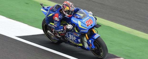 Maverick Vinales castiga prima sa cursa la clasa MotoGP si le ofera celor de la Suzuki prima victorie din 2007