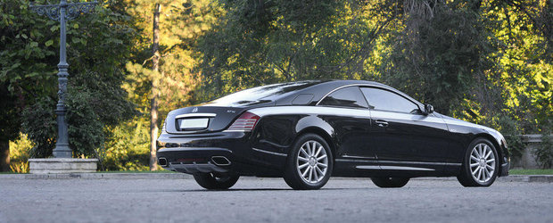 Maybach 57S Coupe renaste in mainile austriecilor
