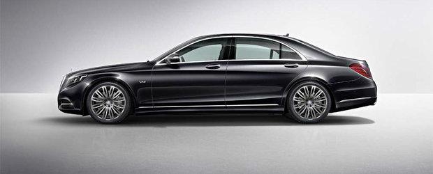 Maybach renaste in forma unui Mercedes-Benz S Class exclusiv