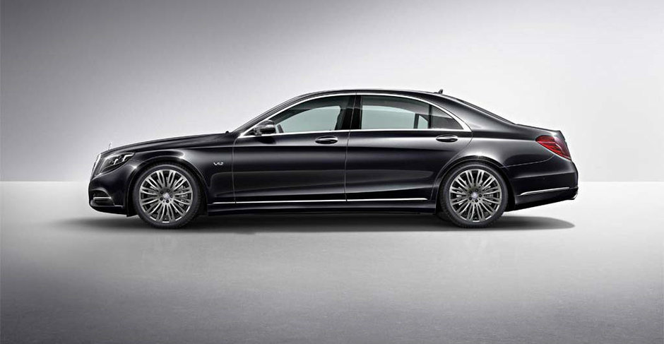 Maybach renaste in forma unui Mercedes-Benz S Class exclusiv