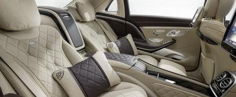 Maybach S-Class: ASA arata cel mai luxos Mercedes al momentului