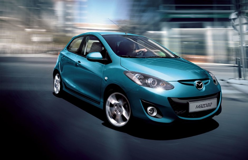 Mazda 2 in varianta noua, dezvaluita la Mondialul de la Paris