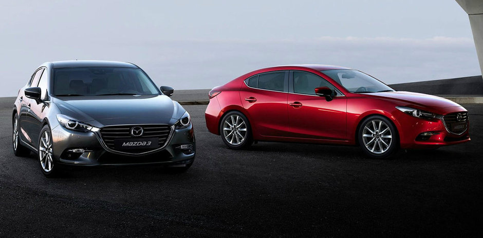 Mazda 3 2017 si-a facut debutul in Japonia, e in drum spre Europa: un facelift plin de noutati