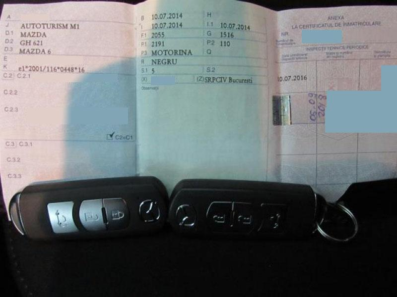 Mazda 6 2.2 CD 150 CP 2014