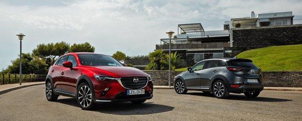 Mazda aduce imbunatatiri pentru modelul CX-3