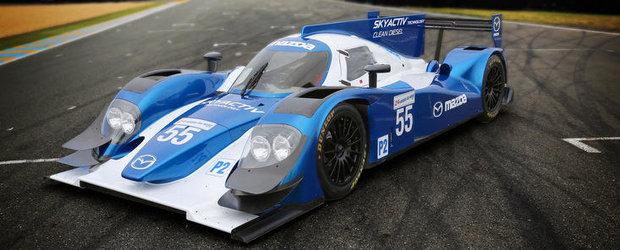 Mazda anunta un motor Skyactiv-D Clean Diesel pentru Cursa de 24 de ore de la Le Mans 2013