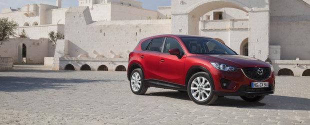 Mazda creste productia modelului CX-5