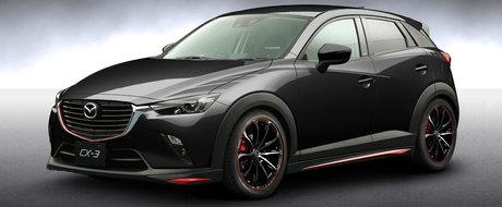 Mazda CX-3 Racing Concept prezentat la Salonul Auto de la Bangkok