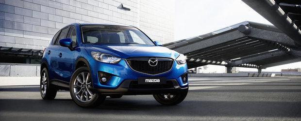 Mazda CX-5 castiga premiul european de design AUTO BILD 2012