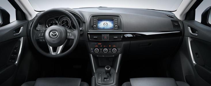 Mazda CX-5, primul autovehicul care foloseste unitatea de comanda HMI