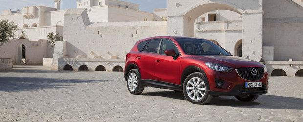 Mazda CX-5 recunoscut in Germania si premiat in Marea Britanie pentru consumul redus