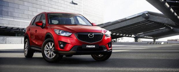 Mazda CX-5 va fi echipat cu cele mai usoare spoilere din lume