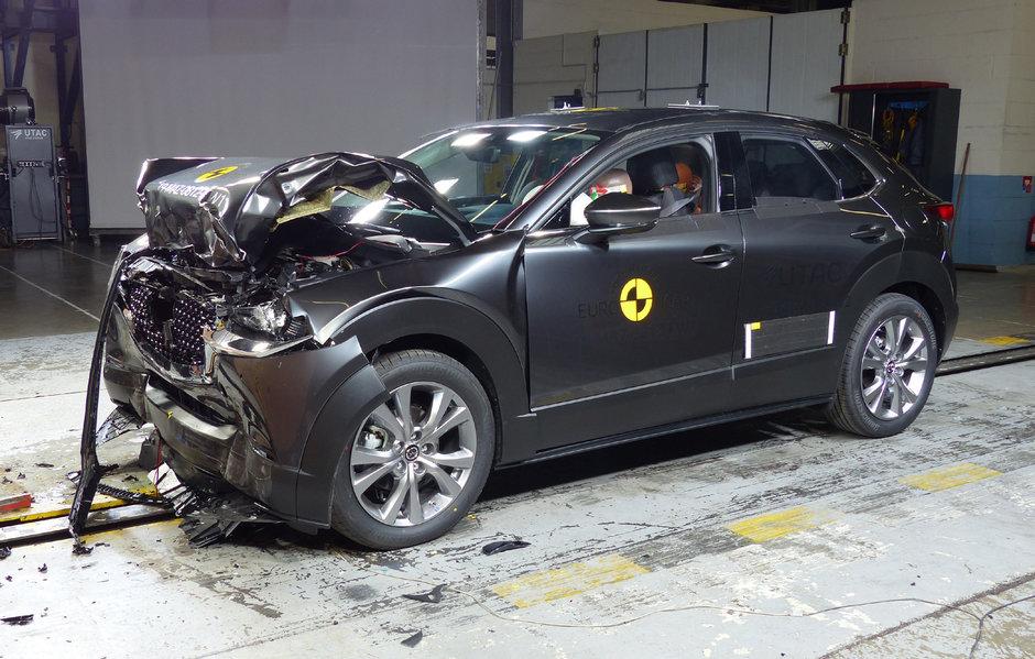 Mazda CX30 la Euro NCAP
