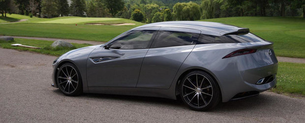 Mazda Deep Orange 3: Cum ar putea arata Mazda3 in anul 2020