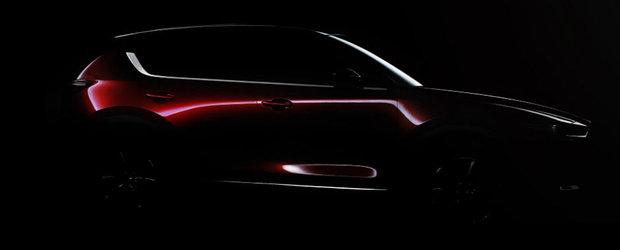 Mazda isi continua ascensiunea. Japonezii au lansat prima imagine a noii generatii CX-5