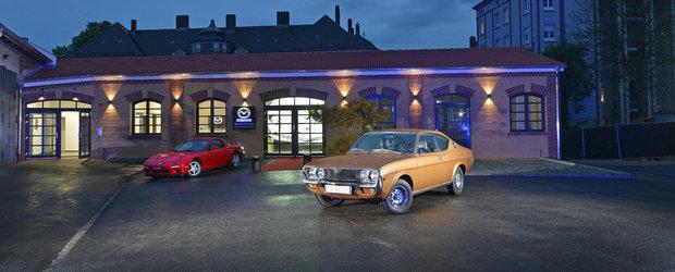 Mazda isi deschide muzeu cu 45 de modele clasice in Germania