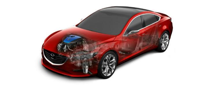 Mazda lanseaza sistemul de franare regenerativa i-ELOOP