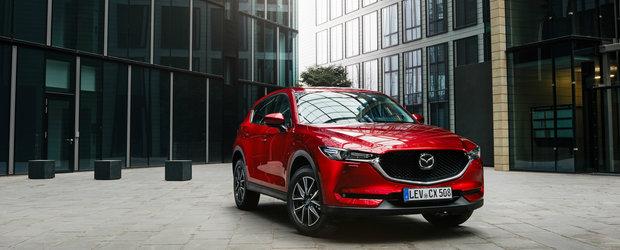 Mazda merge ceas in Romania. 2019 a fost al saptelea an consecutiv cu vanzari in crestere