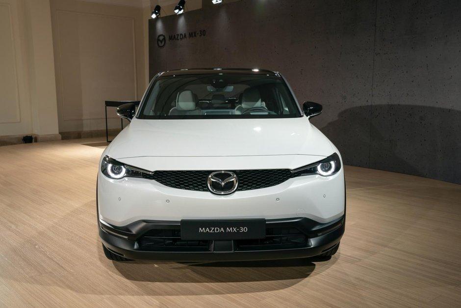 Mazda MX-30 - Poze reale
