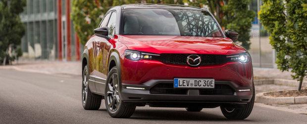 Mazda MX-30 rechemata in service in Europa. Defectiunile descoperite