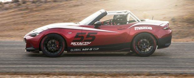 Mazda MX-5 CUP, masina speciala pentru circuit