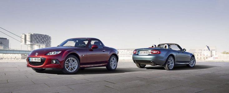 Mazda MX-5 Facelift - Design imbunatatit si dinamica avansata