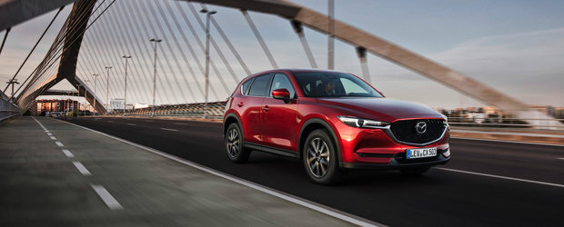 Mazda, o marca tot mai apreciata de romani: 16% crestere a vanzarilor